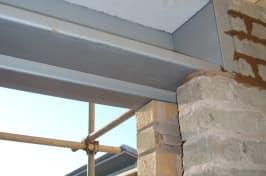 lintel shutters corner