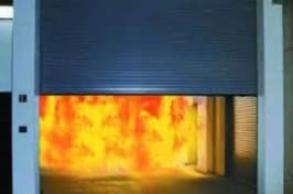 fire shutters stopping fire