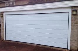 long sectional garage doors