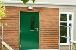 green security doors